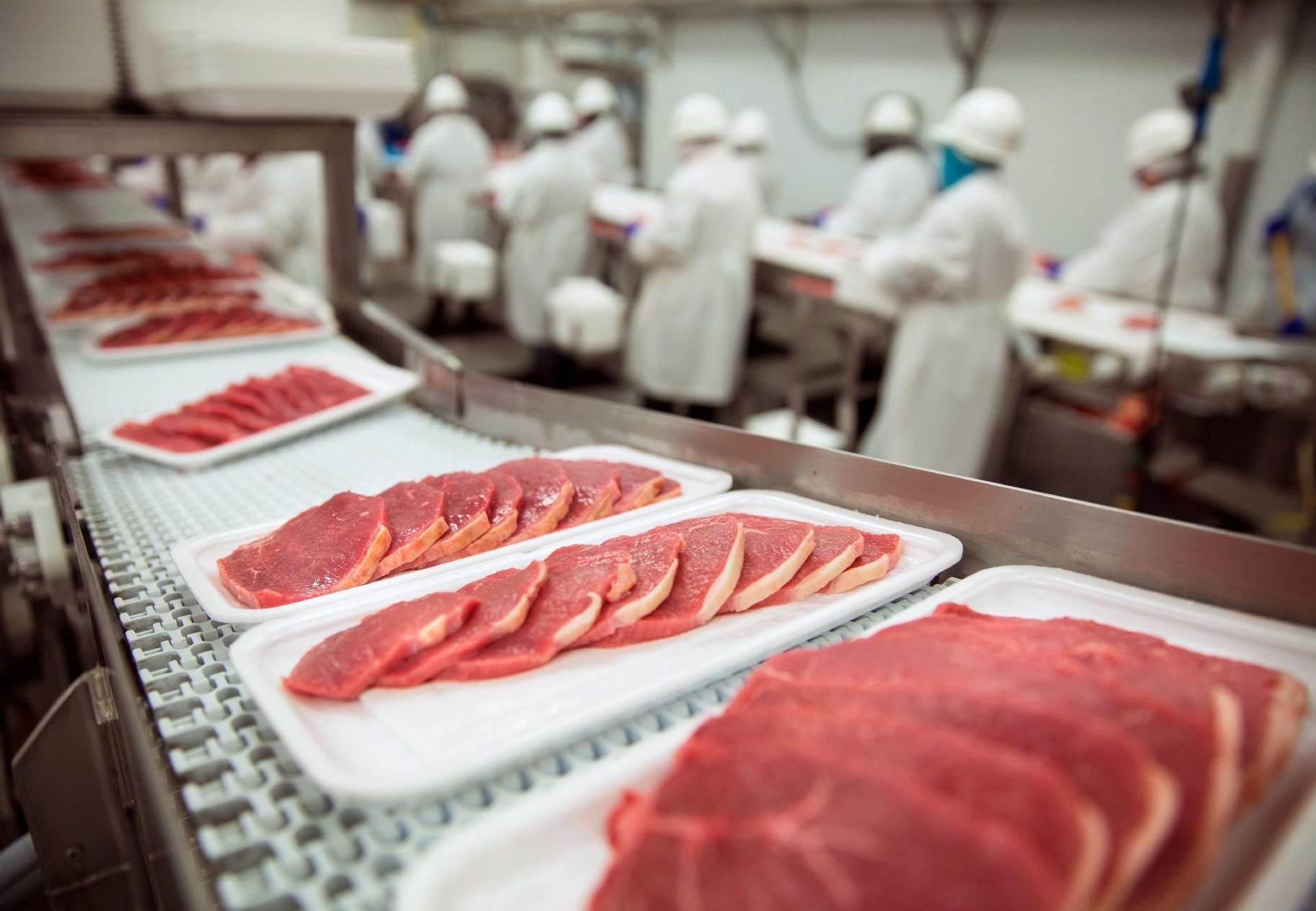 Фабрика разделки мяса